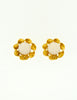 Chanel Vintage Gripoix Gold Twisted Ribbon Earrings - Amarcord Vintage Fashion  - 4