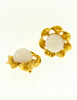 Chanel Vintage Gripoix Gold Twisted Ribbon Earrings - Amarcord Vintage Fashion  - 2