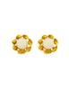 Chanel Vintage Gripoix Gold Twisted Ribbon Earrings - Amarcord Vintage Fashion  - 1