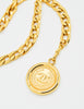 Chanel Vintage Gold Triple Chain Belt - Amarcord Vintage Fashion  - 5