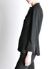 Chanel Vintage Black Wool Peplum Blazer - Amarcord Vintage Fashion  - 5