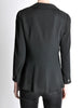 Chanel Vintage Black Wool Peplum Blazer - Amarcord Vintage Fashion  - 6