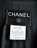 Chanel Vintage Black Wool Peplum Blazer - Amarcord Vintage Fashion  - 7