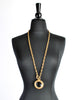 Chanel Vintage Gold Magnifying Glass Loupe Necklace - Amarcord Vintage Fashion  - 5