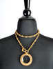 Chanel Vintage Gold Magnifying Glass Loupe Necklace - Amarcord Vintage Fashion  - 4