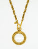 Chanel Vintage Gold Magnifying Glass Loupe Necklace - Amarcord Vintage Fashion  - 7