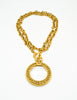 Chanel Vintage Gold Magnifying Glass Loupe Necklace - Amarcord Vintage Fashion  - 3