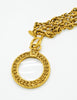 Chanel Vintage Gold Magnifying Glass Loupe Necklace - Amarcord Vintage Fashion  - 6