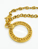 Chanel Vintage Gold Magnifying Glass Loupe Necklace - Amarcord Vintage Fashion  - 2