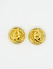 Chanel Vintage Golden CC Lucite Bauble Earrings - Amarcord Vintage Fashion  - 4