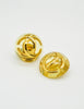 Chanel Vintage Golden CC Lucite Bauble Earrings - Amarcord Vintage Fashion  - 5