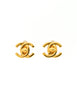 Chanel Vintage Mini Turn Lock CC Clasp Earrings - Amarcord Vintage Fashion  - 3