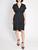 Chanel Vintage Navy Blue Silk Chiffon Dress - Amarcord Vintage Fashion  - 4