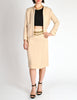 Chanel Vintage Pale Tan Wool Two-Piece Suit - Amarcord Vintage Fashion  - 3