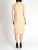Chanel Vintage Pale Tan Wool Two-Piece Suit - Amarcord Vintage Fashion  - 9