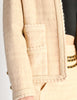 Chanel Vintage Pale Tan Wool Two-Piece Suit - Amarcord Vintage Fashion  - 7