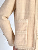 Chanel Vintage Pale Tan Wool Two-Piece Suit - Amarcord Vintage Fashion  - 8