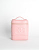 Chanel Vintage Baby Pink Cosmetic Case - Amarcord Vintage Fashion  - 2