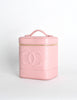 Chanel Vintage Baby Pink Cosmetic Case - Amarcord Vintage Fashion  - 3