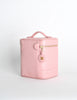 Chanel Vintage Baby Pink Cosmetic Case - Amarcord Vintage Fashion  - 4