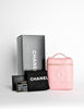 Chanel Vintage Baby Pink Cosmetic Case - Amarcord Vintage Fashion  - 7