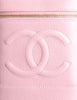 Chanel Vintage Baby Pink Cosmetic Case - Amarcord Vintage Fashion  - 5