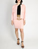 Chanel Vintage Pink Nubby Tweed Two-Piece Suit - Amarcord Vintage Fashion  - 2