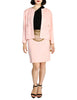 Chanel Vintage Pink Nubby Tweed Two-Piece Suit - Amarcord Vintage Fashion  - 1