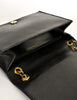Chanel Vintage Black Lambskin Leather Quilted CC Logo Bag - Amarcord Vintage Fashion  - 10