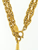 Chanel Vintage Gold Rhinestone Magnifying Glass Loupe Necklace - Amarcord Vintage Fashion  - 8