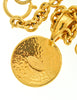 Chanel Vintage Gold CC Logo Pendant Necklace - Amarcord Vintage Fashion  - 6