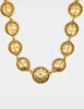 Chanel Vintage Gold 31 Rue Cambon Coin Medallion Necklace - Amarcord Vintage Fashion  - 2
