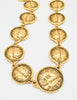 Chanel Vintage Gold 31 Rue Cambon Coin Medallion Necklace - Amarcord Vintage Fashion  - 4