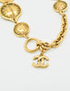 Chanel Vintage Gold 31 Rue Cambon Coin Medallion Necklace - Amarcord Vintage Fashion  - 5
