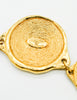 Chanel Vintage Gold 31 Rue Cambon Coin Medallion Necklace - Amarcord Vintage Fashion  - 6