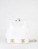 Chanel Vintage White Caviar Bucket Bag - Amarcord Vintage Fashion  - 4