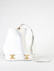 Chanel Vintage White Caviar Bucket Bag - Amarcord Vintage Fashion  - 7