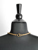 Chanel Vintage Gold Camellia Flower Necklace - Amarcord Vintage Fashion  - 6