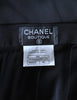 Chanel Vintage Black Silk Chiffon Layered Skirt - Amarcord Vintage Fashion  - 10