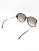 Christian Dior Vintage Black and Gold Sunglasses 2758 - Amarcord Vintage Fashion  - 6
