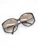 Christian Dior Vintage Black and Gold Sunglasses 2758 - Amarcord Vintage Fashion  - 4