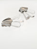 Christian Dior Vintage Silver Faceted Clear Crystal Spike Earrings - Amarcord Vintage Fashion  - 4