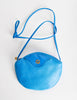 Christian Dior Vintage Blue Leather Crossbody Bag - Amarcord Vintage Fashion  - 2