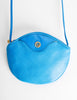 Christian Dior Vintage Blue Leather Crossbody Bag - Amarcord Vintage Fashion  - 5