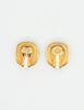 Christian Dior Vintage Diamante Enamel Earrings - Amarcord Vintage Fashion  - 5