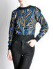 Christian Dior Vintage Metallic Sweater - Amarcord Vintage Fashion  - 2