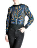 Christian Dior Vintage Metallic Sweater - Amarcord Vintage Fashion  - 1