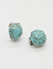 Christian Dior Vintage 1958 Turquoise Earrings - Amarcord Vintage Fashion  - 4