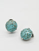 Christian Dior Vintage 1958 Turquoise Earrings - Amarcord Vintage Fashion  - 3