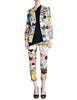 Christian Lacroix Vintage Pop Art Collage Print Suit - Amarcord Vintage Fashion  - 1